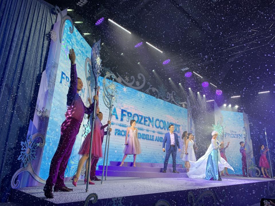 #迪士尼Frozen音樂會❄️奇妙處處通會員限定