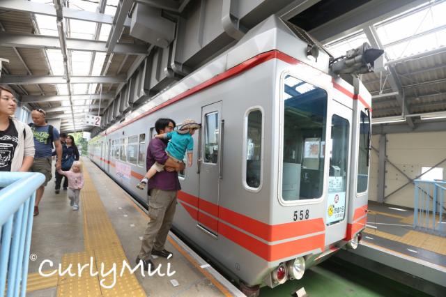 如果你是鐵路迷,就不可錯過乘坐單軌列車的機會。