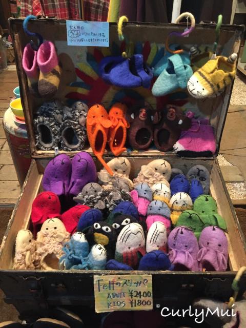 可愛的動物造型保暖拖鞋,有成人裝,也有小童裝。