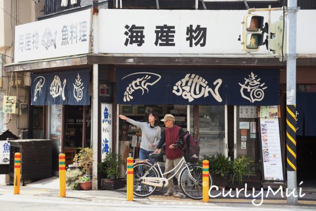 一直往前走,是很多充滿鄉村風味的小商店。