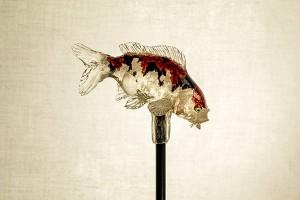 栩栩如生的金魚,晶瑩通透。(網上圖片)
