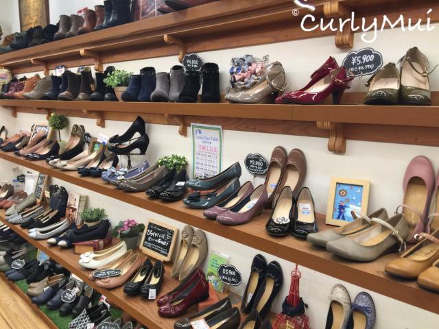 maRe maRe大部分鞋款都是日本製造,而且價錢廉宜。