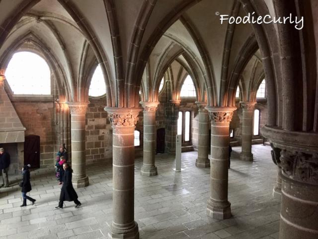 能夠想像在一千多年前,人們是如何一磚一瓦地建造這座修道院嗎?