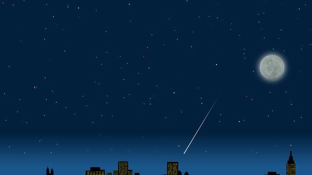 夜,星空 ,神的恩典,