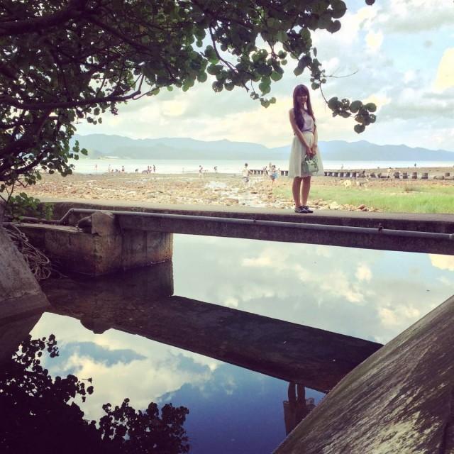 秘景 泥涌 石灘 斷橋 西貢