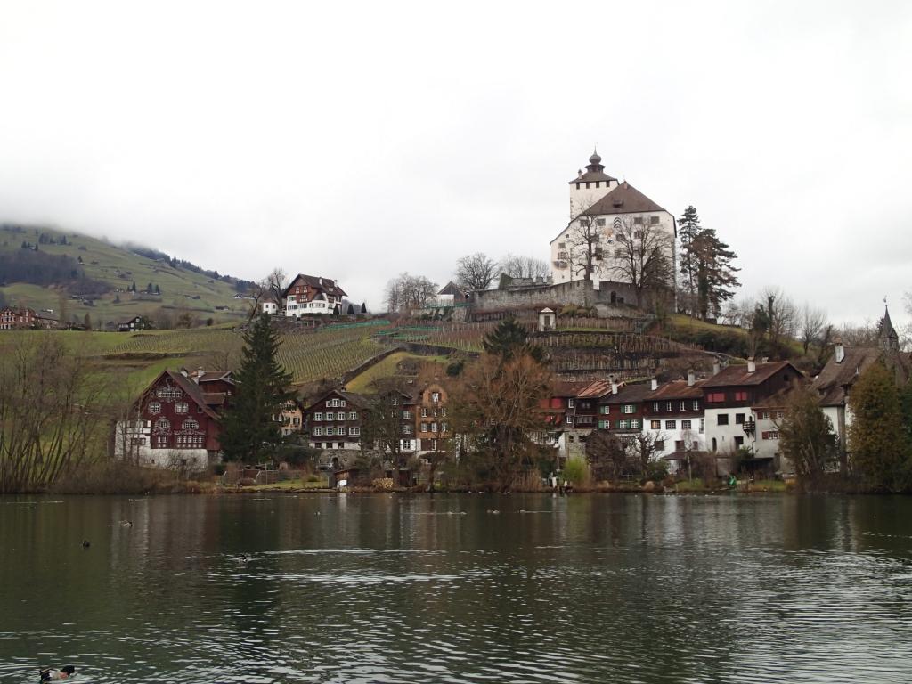瑞士小鎮Buchs