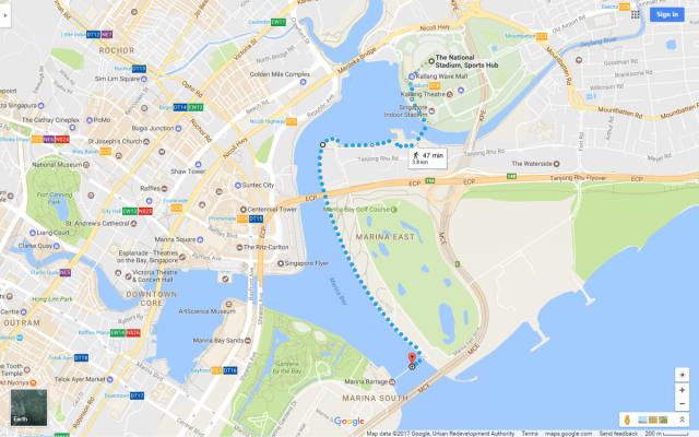 新加坡單車路線