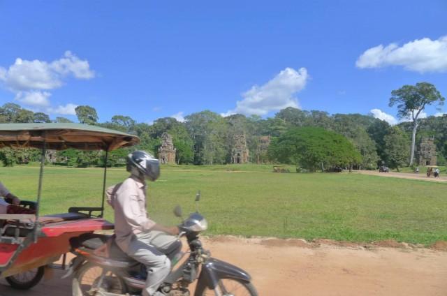 遊柬埔寨很多時會坐Tuk Tuk