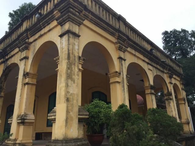 皇城內的殘舊建築