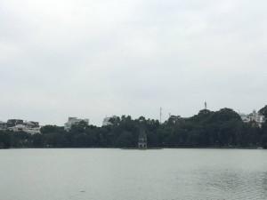 還劍湖中的龜塔,背後的故事相當有趣。