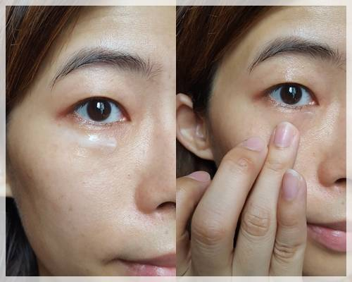 eyecreamusing