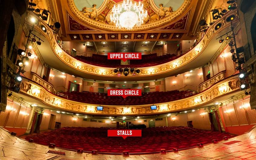 When you dare to dream u blog for Balcony novello theatre
