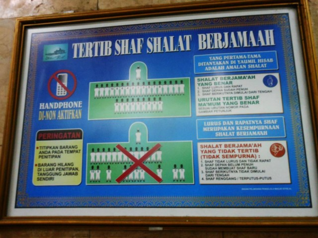 進入清真寺要注意的九個事項2