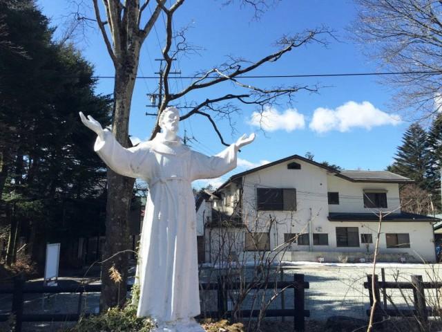 舊輕井澤銀座通聖保羅教堂5