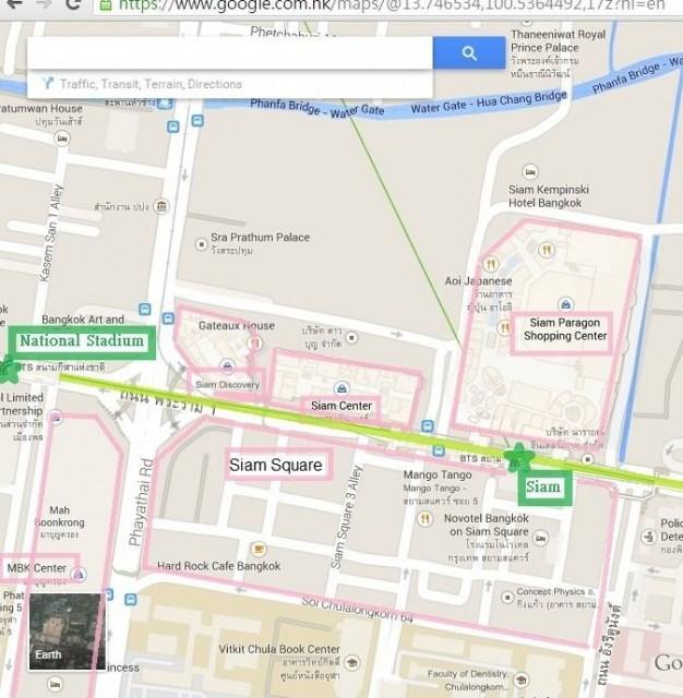 曼谷 地鐵 沿線 5天懶人包 Siam National Stadium 商業區