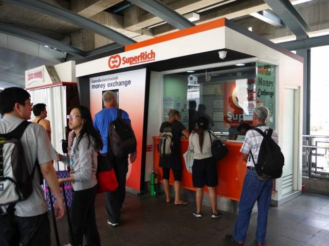曼谷 地鐵 沿線 5天懶人包 Suvarnabhumi Airport 唱錢 匯率