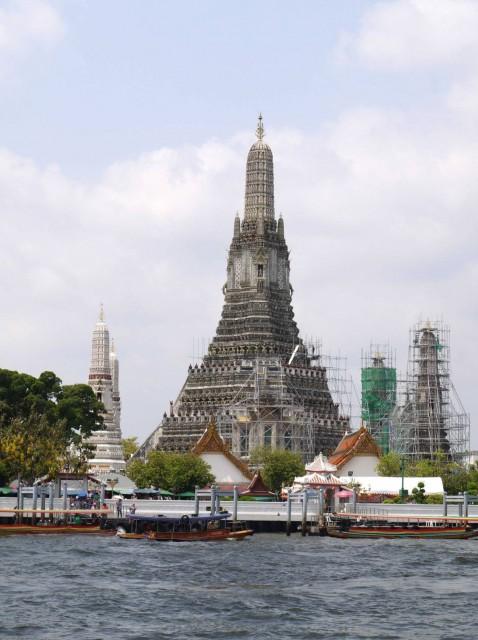 曼谷 地鐵 沿線 5天懶人包 湄南河 沿岸 古蹟遊 考山路 黎明寺 鄭王廟