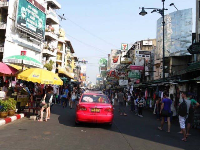 曼谷 地鐵 沿線 5天懶人包 湄南河 沿岸 古蹟遊 考山路 Kao Shan Road