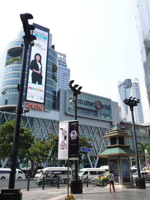 曼谷 地鐵 沿線 5天懶人包 Suvarnabhumi Airport Chit Lom 中央世界購物商場