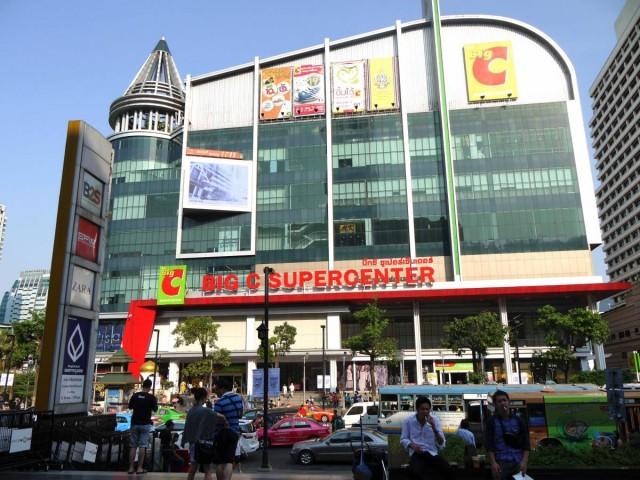 曼谷 地鐵 沿線 5天懶人包 中央世界購物商場 Big-C Supercenter