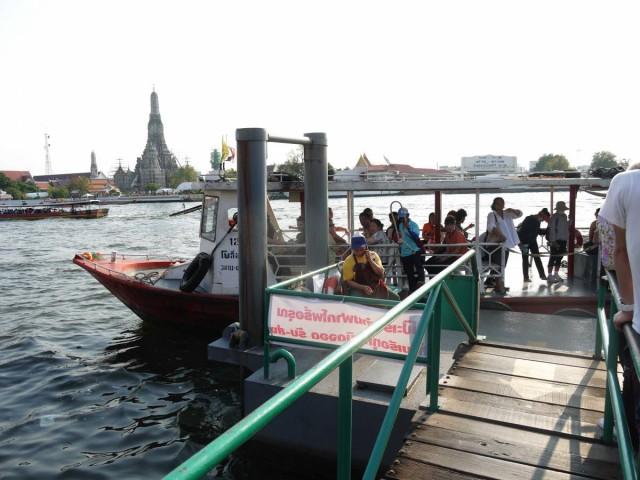 曼谷 地鐵 沿線 5天懶人包 湄南河 沿岸 古蹟遊 考山路 Cross River Ferry Tha Tian