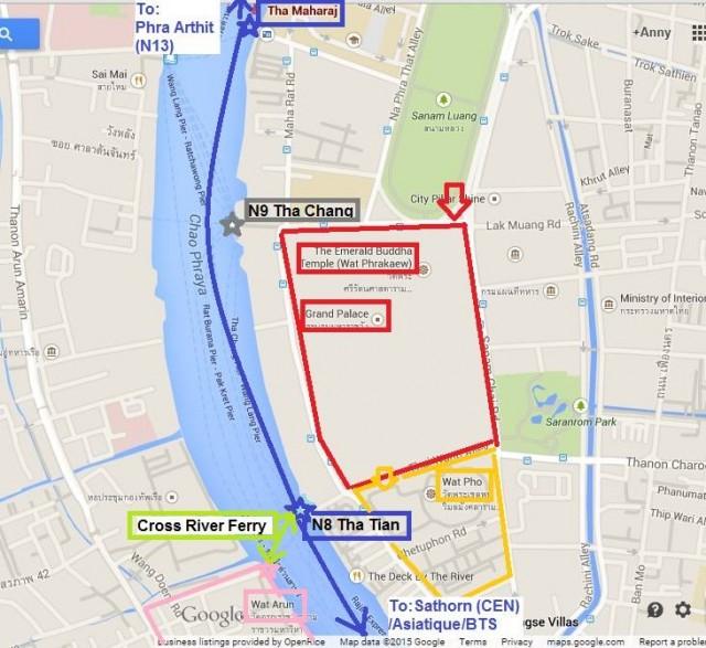 曼谷 地鐵 沿線 5天懶人包 湄南河 沿岸 古蹟遊