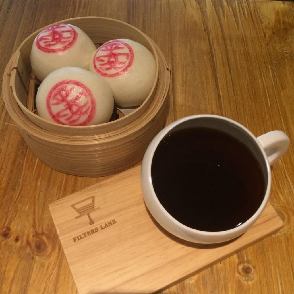 FilterLaneX郭錦記,由郭錦記餅店出品的平安包及單品咖啡