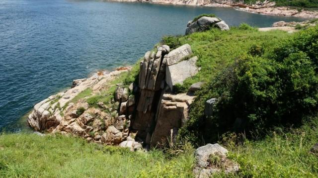 香港 極南 香港仔 赤柱 街渡 小島 蒲台島 佛手崖