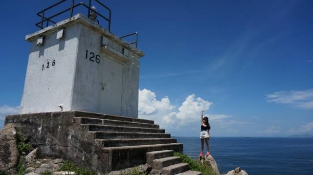 香港 極南 香港仔 赤柱 街渡 小島 蒲台島 燈塔