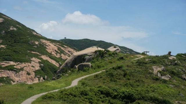 香港 極南 香港仔 赤柱 街渡 小島 蒲台島 靈龜上山石