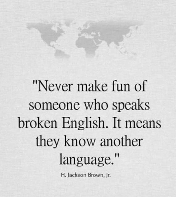 別再取笑別人的英語水平