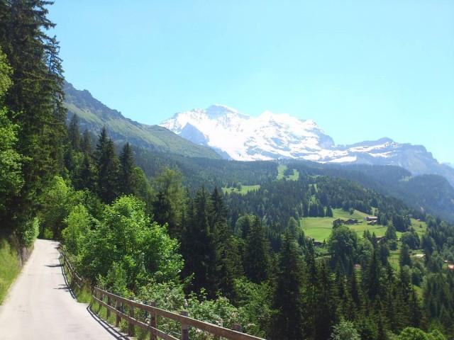 前往Staubbach-bankli的路上