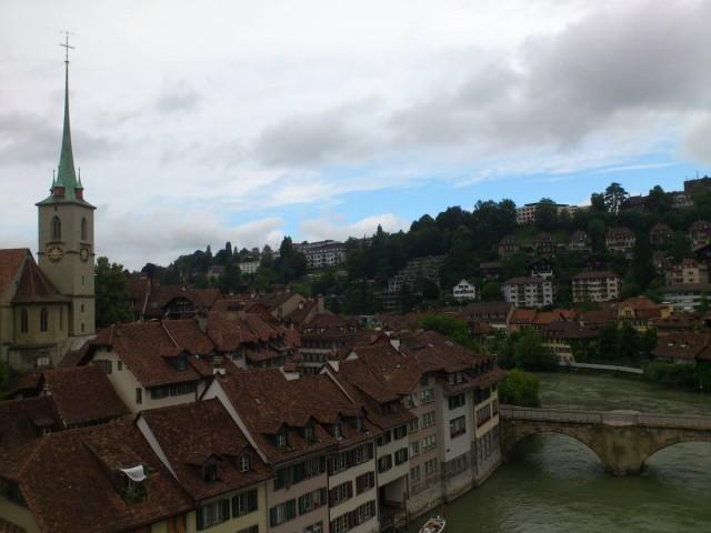 Bern舊城區