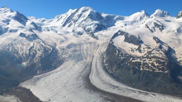 壯麗的Gorner Glacier