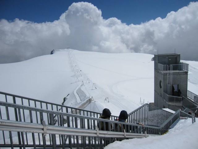 Matterhorn Glacier Paradise觀景台的景色