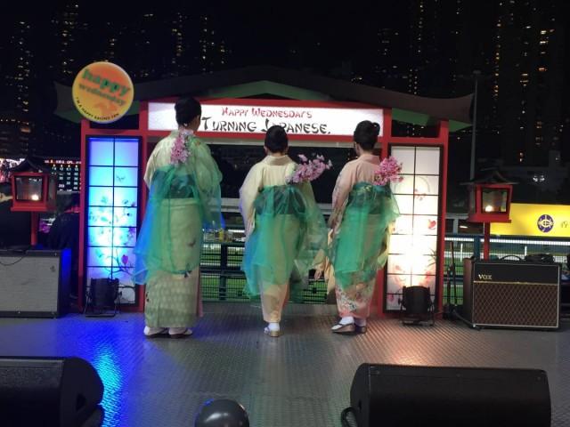日本傳統的舞蹈表演