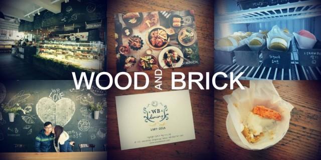 韓國 美食 WOOD AND BRICK 三清洞 cafe 麵包 雪糕
