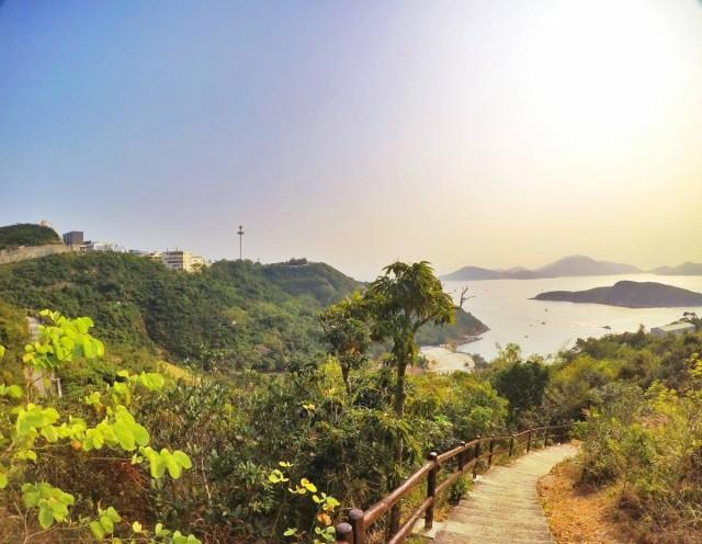 黃竹坑 海洋公園 南朗山 路徑 行山