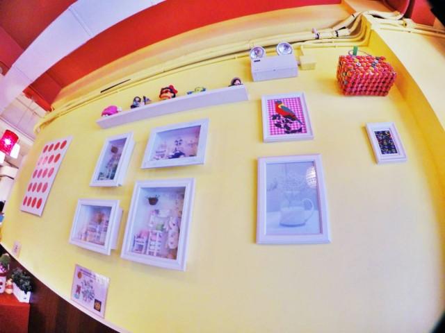 水街cafe-CAFE INSIDE,DIY模型