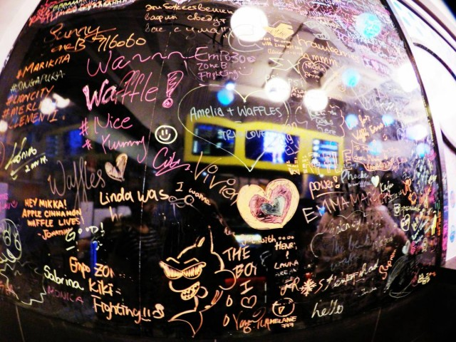 香港 中環 嘉咸街 小巷 甜點 比利時 窩夫 wafffle