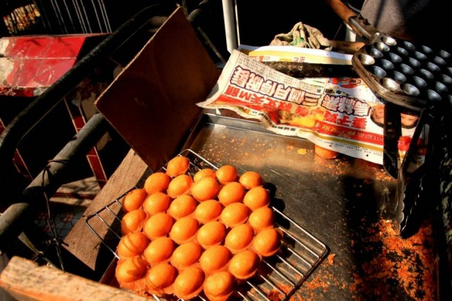 香港 大澳 吉慶街 炭燒雞蛋仔
