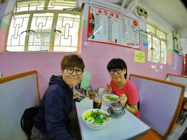 香港 大澳 永生冰室 吉慶街50號 叉燒水餃米