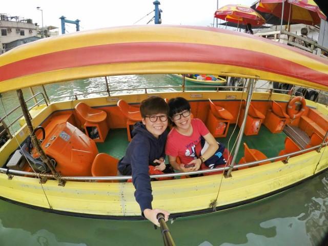 香港 大澳 吉慶街 出海 中華白海豚 新基橋
