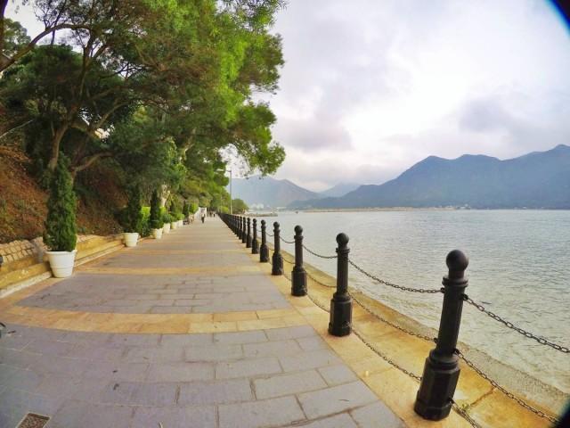 香港 大澳 吉慶街 出海 中華白海豚 新基橋 碼頭