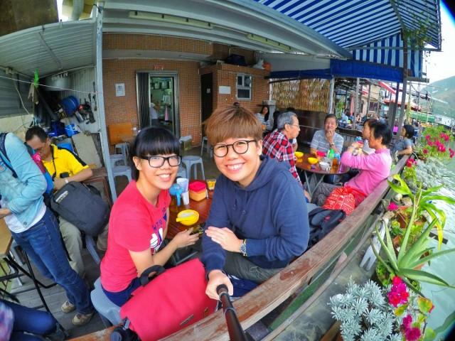 香港 大澳 吉慶街 出海 中華白海豚 新基橋 碼頭 虎山 石埗仔街 正記 豆腐花 燒賣魚蛋