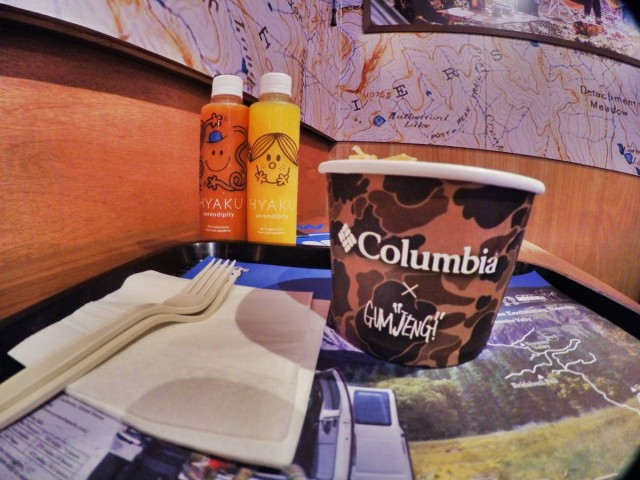 銅鑼灣 加寧街 期間 限定 wild cafe 主題 餐廳 gum jeng COLUMBIA 山系 狗仔粉 冷壓果汁 mr.men little miss