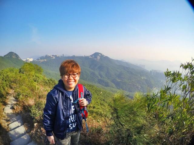 香港 行山 盧吉道 山頂 觀景台 西高山 風景 天梯