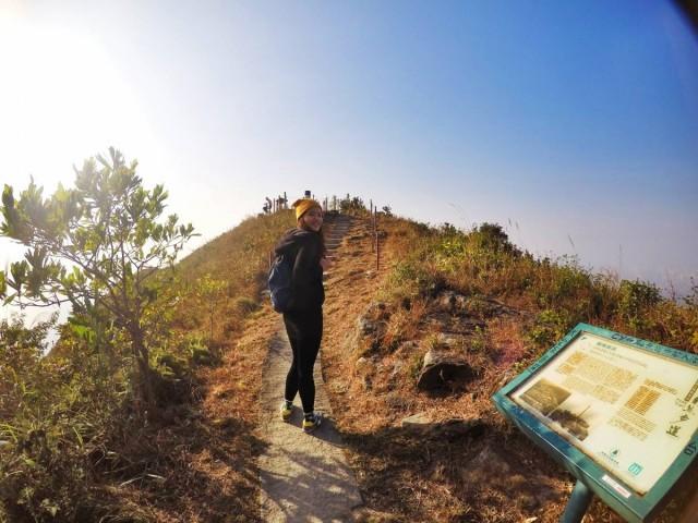 香港 行山 盧吉道 山頂 觀景台 西高山 風景 天梯 太平山 維多利亞港