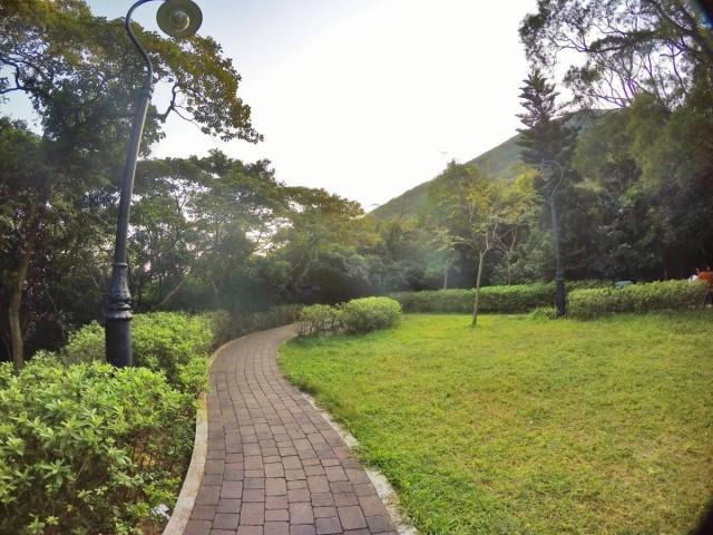 香港 行山 盧吉道 山頂 觀景台 西高山 風景