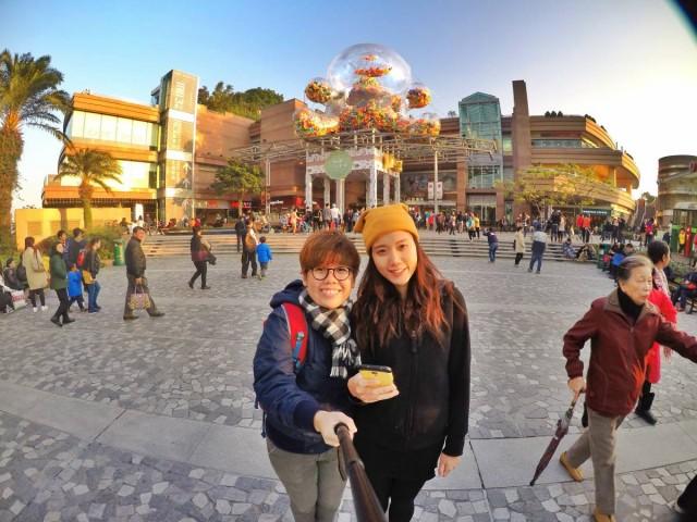 香港 行山 盧吉道 山頂 觀景台 健力士 熊仔 氣球 展覽